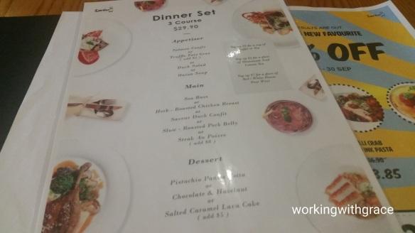 Saveur dinner set