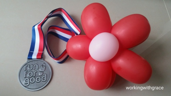 Balloon Run medal