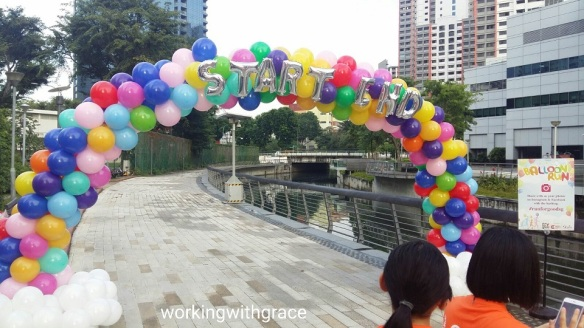 Balloon Run Singapore 2017
