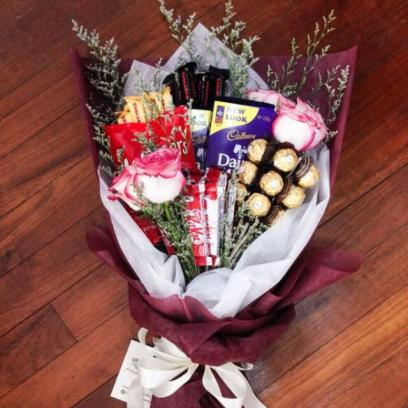 Hamper bouquet