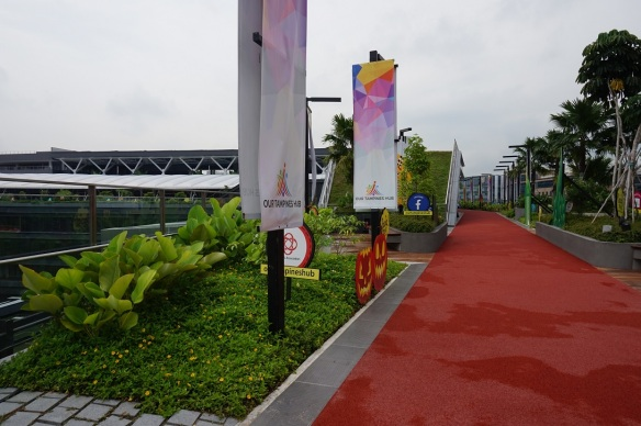 our tampines hub jogging track