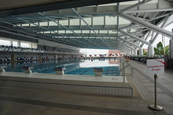 our tampines hub swimming pool