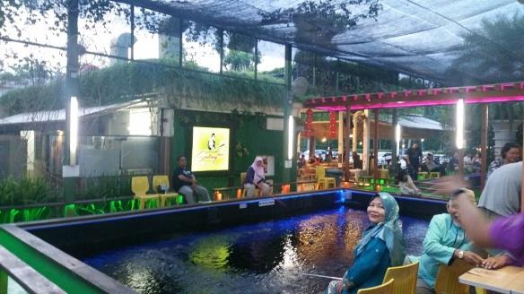 Prawning at Pasir Ris