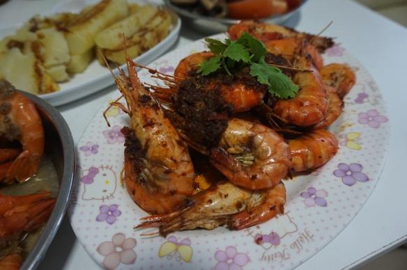 Sambal prawns singapore