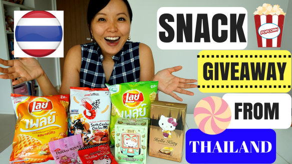 thailand snack giveaway