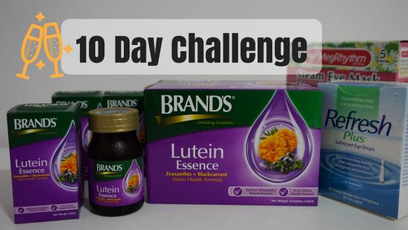 BRAND'S Lutein Essence 10 Day Challenge