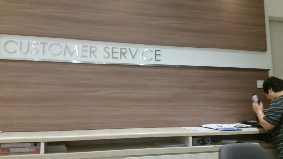 Customer Service Isetan Singapore