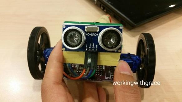 Motion Sensing Robot