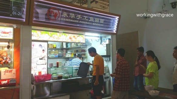 Pasir Ris Central Hawker Centre fishball noodles