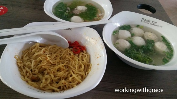 Pasir Ris Central hawker centre food