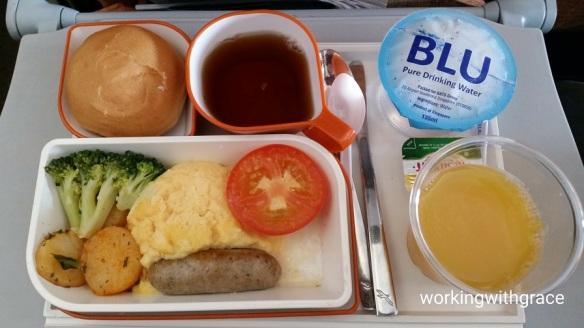 silkair inflight meal menu