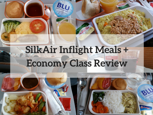 SilkAir Inflight Meals +Economy Class Review