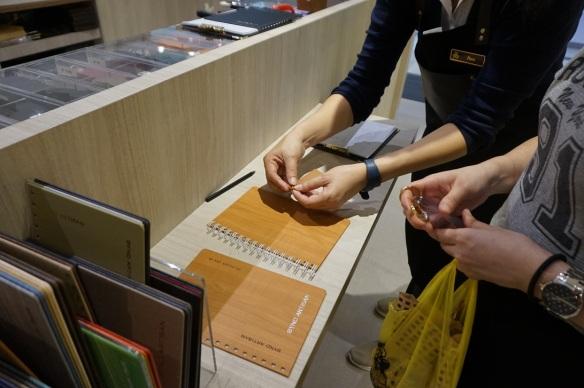 bynd artisan notebook customisation