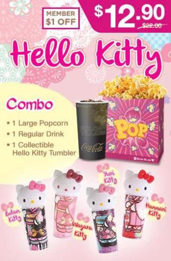 Hello Kitty tumbler Golden Village