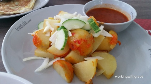 Pasir Ris Central Hawker Centre indian rojak
