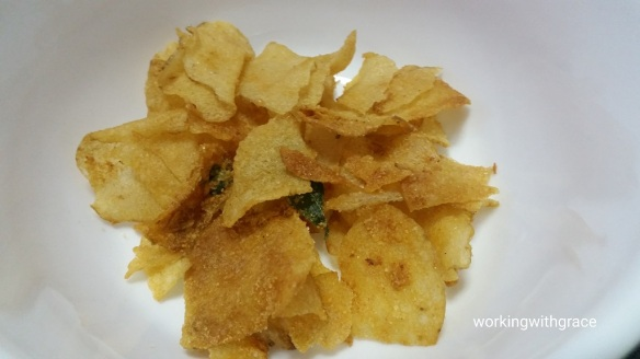 Aunty Esther's Salted Egg Potato Crisp review