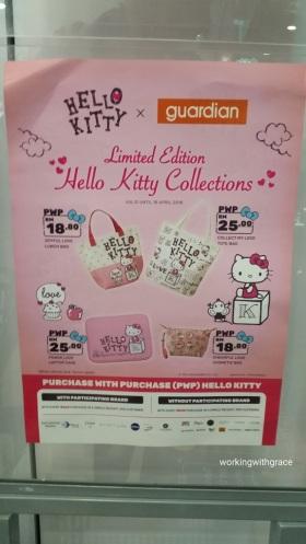 Guardian Malaysia Hello Kitty Exclusive