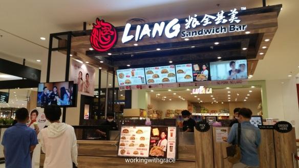 LIANG Sandwich Bar Paradigm Mall