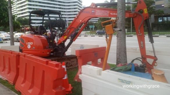 Excavator operator Singapore
