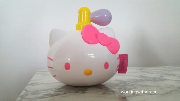 McDonald's Hello Kitty Perfume Bottle Sticker Dispenser
