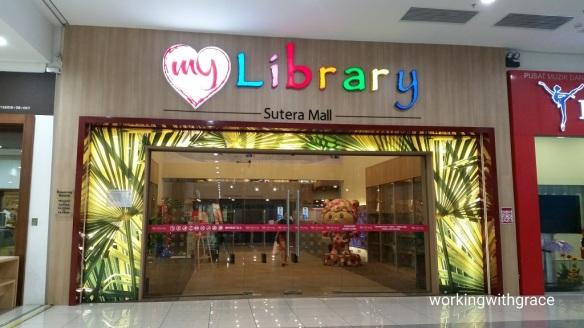 my library Sutera Mall
