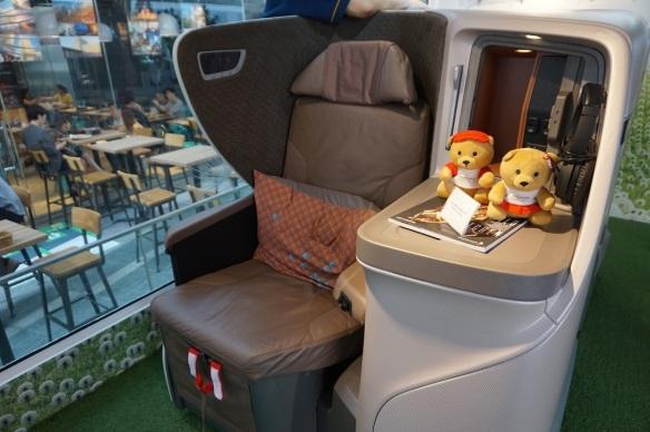 Singapore Airlines 787-10 Dreamliner regional business class
