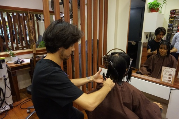 Japanese hair salon in singapore