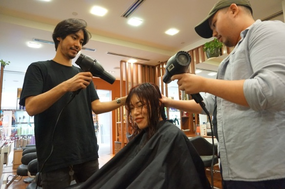 Japanese hairstylist singapore