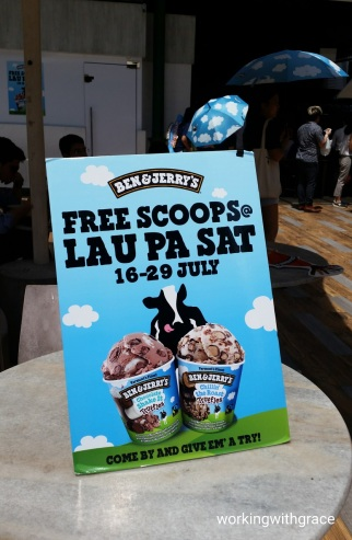 Final 3 Days Ben Jerry S Two Weeks Of Free Ice Cream Giveaways Lau Pa Sat Working With Grace