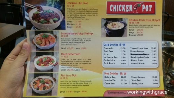 chicken hotpot price