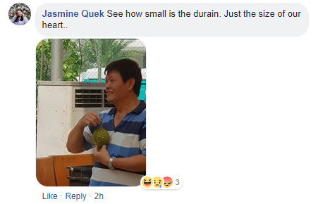 sengkang cc durian festival small durians