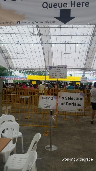 sengkang community centre durian festival 2018