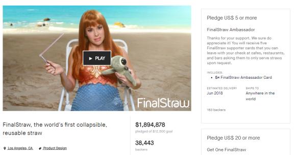 Final Straw Kickstarter