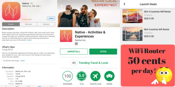Native iOS Android app