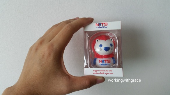 NETS FlashPay Singapore National Day 2018 Merlion Collectible