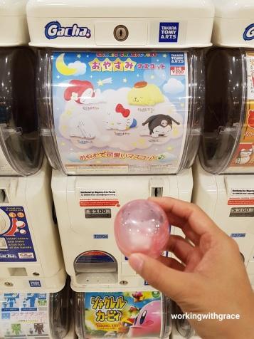 sanrio gashapon machine singapore