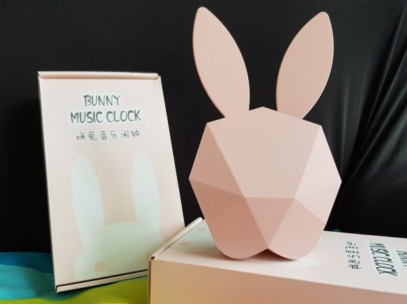 Bunny Music Clock