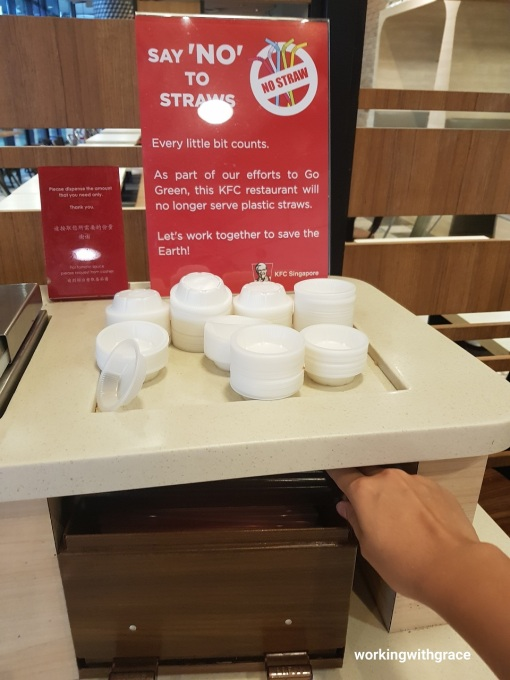 KFC No Straw Initiative