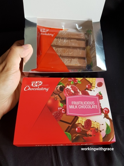 Kit Kat Chocolatory Fruitilicious Milk Chocolate