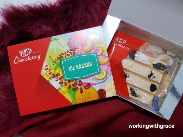 Kit Kat Chocolatory Ice Kacang