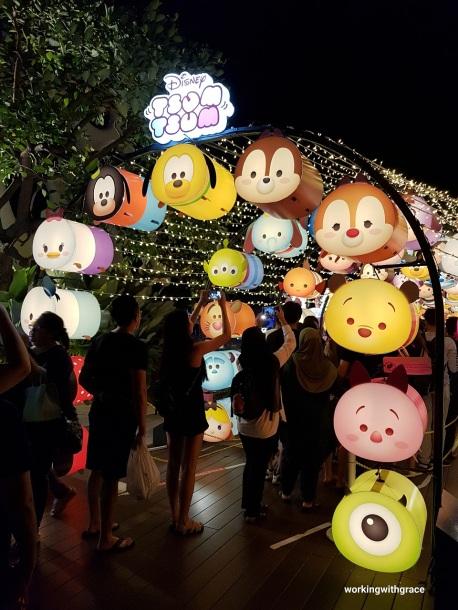 tsum tsum lanterns vivocity