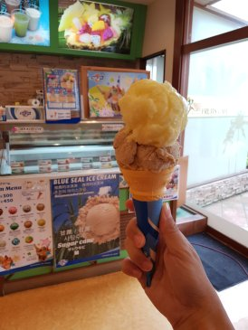 Blue seal ice cream okinawa