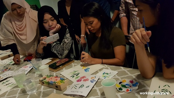 acrylic painting classes for adults singapore