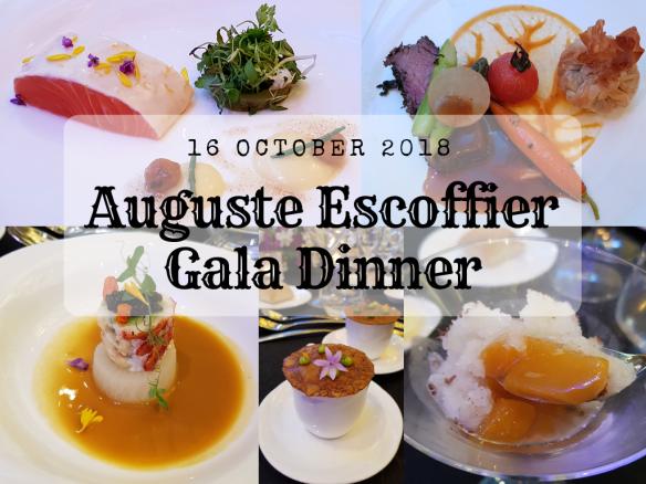 Auguste Escoffier Gala Dinner 2018