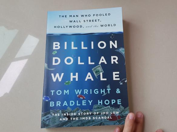 billion dollar whale book