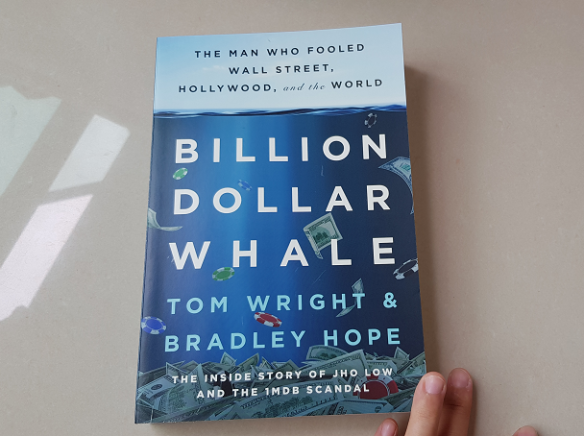billion dollar whale book
