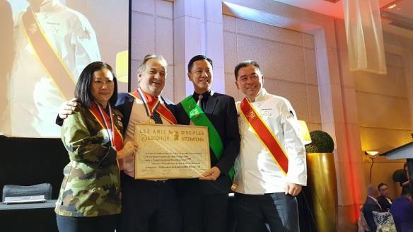 e2i's Gilbert Tan honorary member of Auguste Escoffier