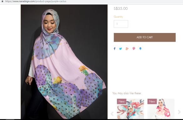 head scarf singapore