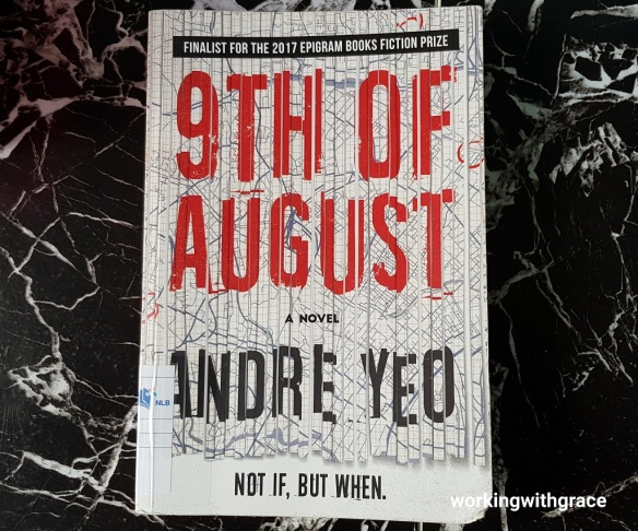 9th of August book by Andre Yeo