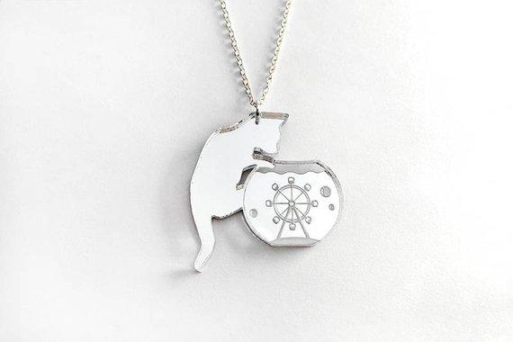 alfie de meow necklace